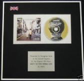 OASIS - CD Album Award -(WHATS THE STORY) MORNING GLORY
